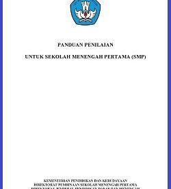 Panduan Penilaian SMP Kurikulum 2013